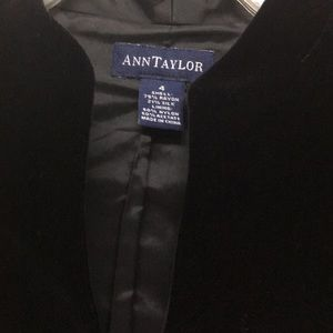 edf5fef51442 Ann Taylor Jackets & Coats - Ann Taylor gorgeous black velvet jacket